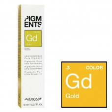 Arany szinű koncentrált Pigment - .3 Gold - Ultra Concentrated Pure Pigment - Alfaparf Milano - 8 ml
