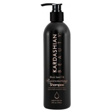 Hidratáló sampon száraz hajra - Rejuvenating Shampoo - Black Seed Oil - Kardashian Beauty - 739 ml