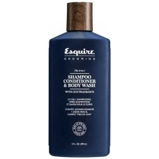 Gél 3 az 1-ben - Sampon, kondicionáló, tusfürdő - Shampoo, Conditioner & Body Wash - Esquire Grooming - CHI - 89 ml