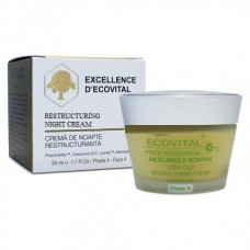 Regeneráló éjszakai krém - Restructuring Night Cream - Excellence D'Ecovital - Ecovital - 50 ml