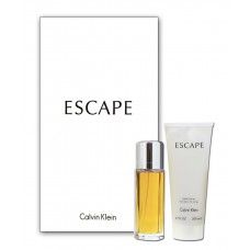 Eau de Parfum + Body Lotion Set for Women - Escape Set - Calvin Klein - 100 ml + 200 ml