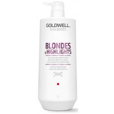 Sampon szőke vagy melirozott hajra - Anti-Yellow Shampoo - Blondes & Highlights - Goldwell - 1000 ml