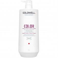 Balzsam festett haj - Brilliance Conditioner - Color - DualSenses - Goldwell - 1000 ml