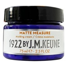 A paszta, hogy a matt a modellezési haj - Matte Measure Molding Cream - Distilled For Men - Keune - 75 ml