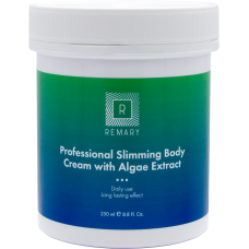 Krém szakmai karcsúsító hínárral - Professional Slimming Body Cream with Algae Extract - Remary - 250 ml