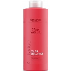 Sampon jó haj, festett - Color Protection Shampoo - Fine - Invigo Brilliance - Wella - 1000 ml